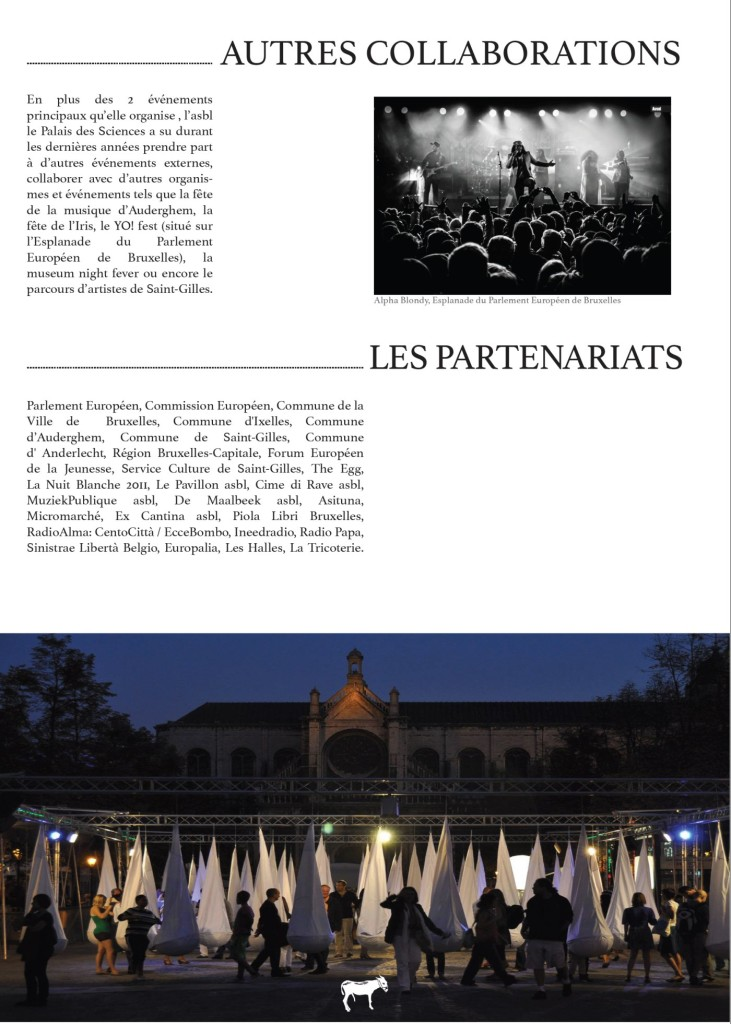 Cv Palais Collaborations website