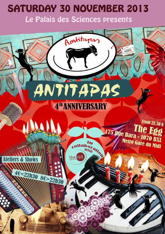 Flyer Antitapas 4th Anniversary Web