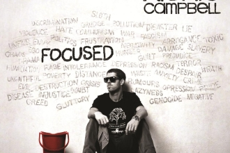 Richie Campbell Front cover album Focused Web