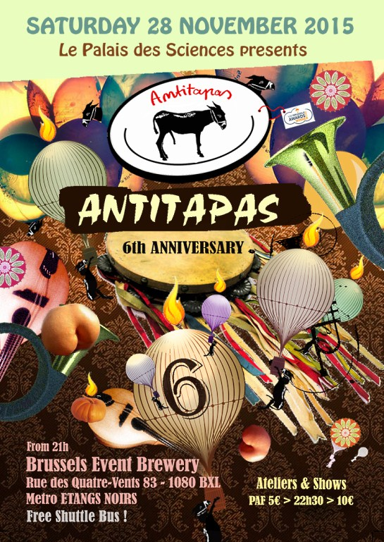 ANTITAPAS 6th Anniversary # Cancelled